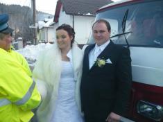 """Hasičská svadba"" - Alenka a Martin"