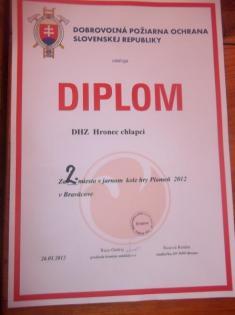 """Jarné kolo hry """"Plameň"""" - súťaž mladých hasičov - Braväcovo 26.5.2012"""
