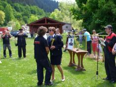 Memoriál Júliusa Pauloviča - 20.5.2012 - súťaž hasičských družstiev v požiarnom útoku