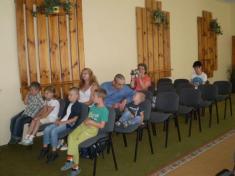 Rozlúčka s Materskou školou - slávnostné prijatie budúcich prvákov