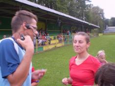 Športové hviezdy - Starí páni Hronec - futbalový zápas