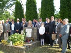 140.výročie narodenia Alojza Sokola - účastníka 1.novodobých olympijskych hier v Aténach - spomienka v Šahách , prijatie delegácie Slovenského olympijského výboru v Hronci