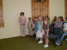 Slávnostná rozlúčka budúcich prvákov s materskou školou