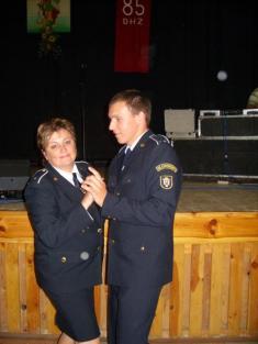 Oslavy 85.výročia DHZ Hronec 16.9.2011